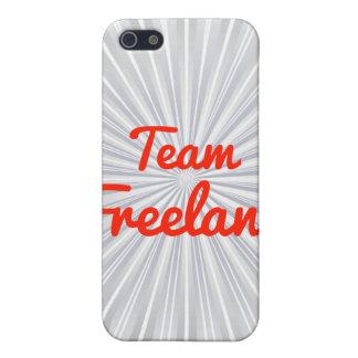 Equipo Freeland iPhone 5 Cárcasa