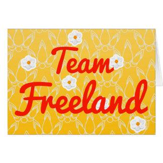 Equipo Freeland Tarjetón