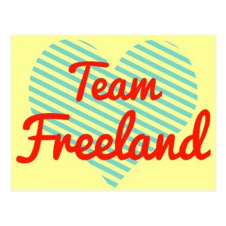 Equipo Freeland Tarjetas Postales