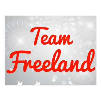 Equipo Freeland Postales