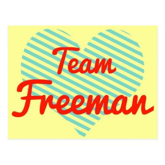 Equipo Freeman Postal