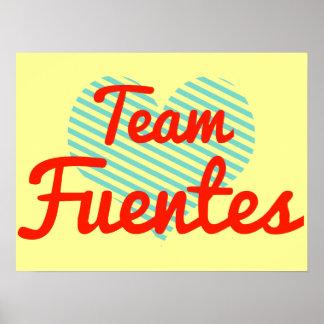 Equipo Fuentes Poster