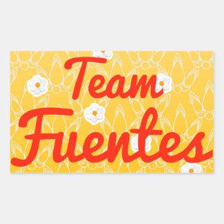 Equipo Fuentes Rectangular Altavoz