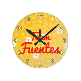 Equipo Fuentes Relojes