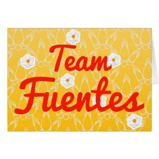 Equipo Fuentes Felicitaciones