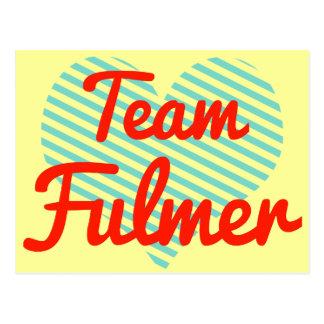 Equipo Fulmer Postales