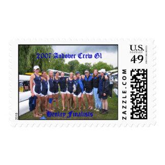 Equipo G1 de Andover Timbre Postal