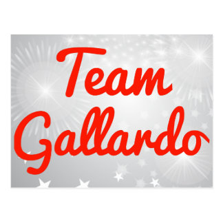 Equipo Gallardo Postal