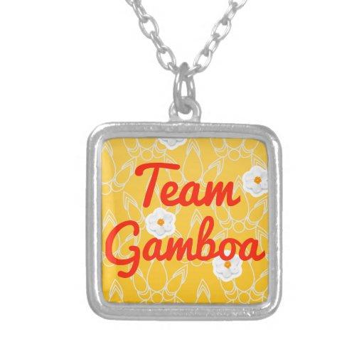 Equipo Gamboa Collar Personalizado