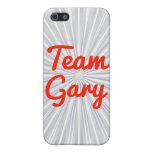 Equipo Gary iPhone 5 Carcasas