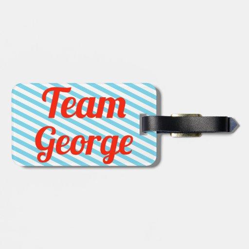 Equipo George Etiquetas Maleta
