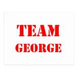 Equipo George Postal