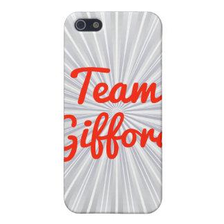 Equipo Gifford iPhone 5 Fundas