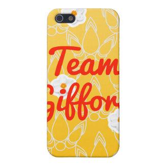Equipo Gifford iPhone 5 Cárcasas