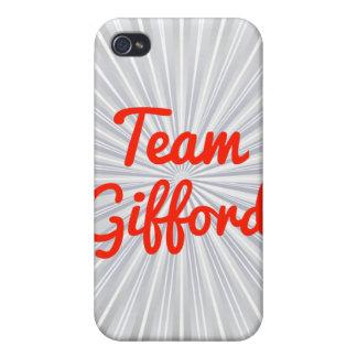 Equipo Gifford iPhone 4 Cobertura