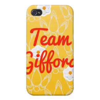 Equipo Gifford iPhone 4 Fundas