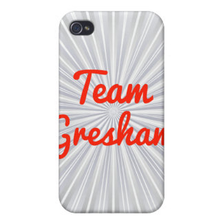 Equipo Gresham iPhone 4 Carcasa