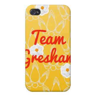 Equipo Gresham iPhone 4 Cárcasas