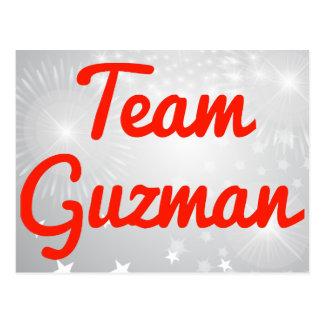 Equipo Guzman Tarjetas Postales