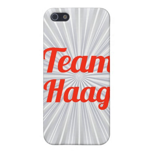 Equipo Haag iPhone 5 Cobertura