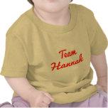 Equipo Hannah Camisetas