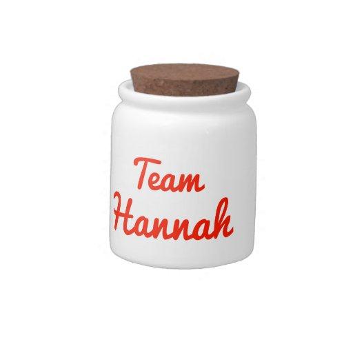 Equipo Hannah Jarra Para Caramelo