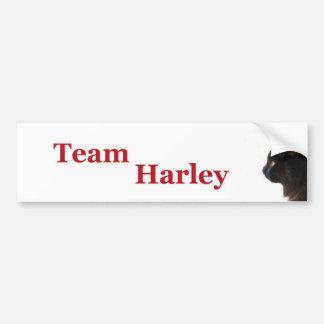 Equipo Harley Etiqueta De Parachoque