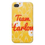 Equipo Harlow iPhone 4 Carcasas