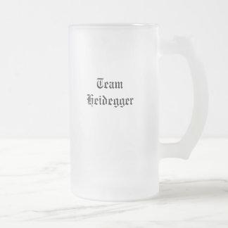 Equipo Heidegger Taza De Cristal