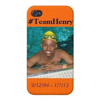 Equipo Henry iPhone 4/4S Fundas