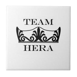 Equipo Hera-Inglés Azulejo Cuadrado Pequeño