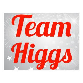 Equipo Higgs Tarjetas Postales