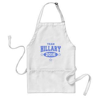 EQUIPO HILLARY Hillary Clinton 2016 Delantal
