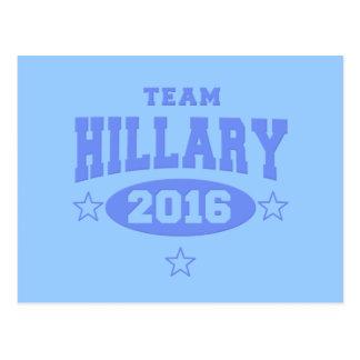 EQUIPO HILLARY Hillary Clinton 2016 Postal