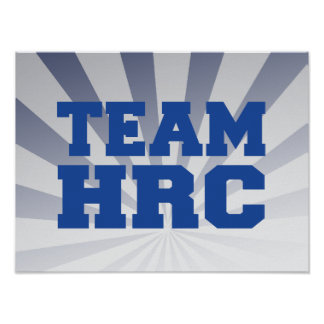 EQUIPO HILLARY RODHAM CLINTON POSTERS