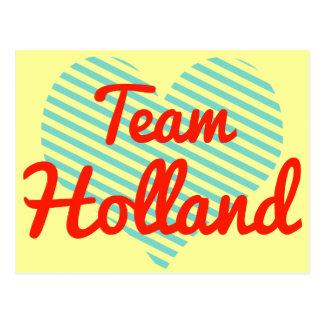 Equipo Holanda Postales