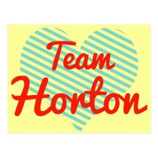 Equipo Horton Tarjetas Postales