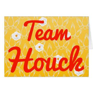 Equipo Houck Tarjeta De Felicitación