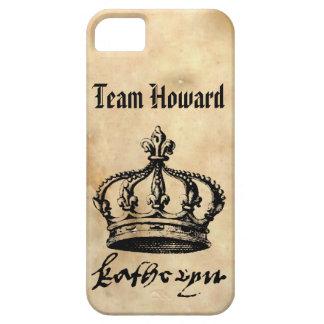 Equipo Howard - la corona y la firma de Catherine iPhone 5 Fundas