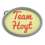Equipo Hoyt Hebillas Cinturon Ovales