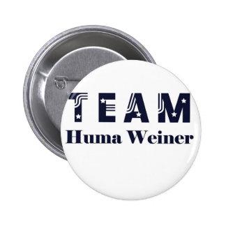 EQUIPO Huma Weiner Pin