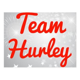 Equipo Hurley Tarjetas Postales