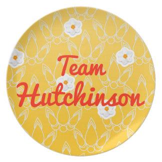 Equipo Hutchinson Plato Para Fiesta