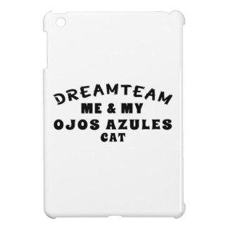 Equipo ideal yo y mi gato de Ojos Azules iPad Mini Coberturas