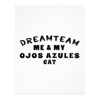 Equipo ideal yo y mi gato de Ojos Azules Plantillas De Membrete