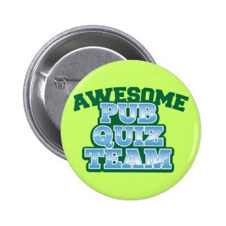 ¡EQUIPO impresionante del concurso del Pub! Pin