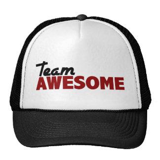 Equipo impresionante gorra