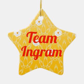 Equipo Ingram Ornamento Para Arbol De Navidad