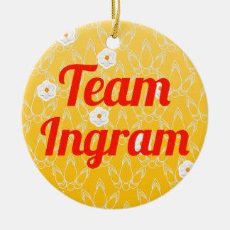 Equipo Ingram Adornos De Navidad