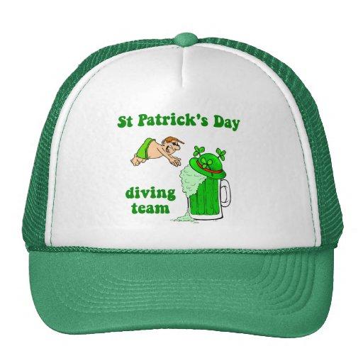 Equipo irlandés del salto gorra